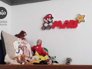 de style  par Caio Espacios Infantiles, Moderne