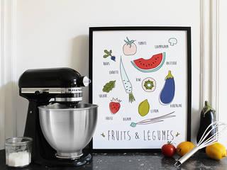 Affiche Fruits & Légumes:  de style  par MilieO