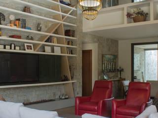 Casa Vila Campestre. Salas de estar modernas por AURORA Arquitetura - Design 4 Stays Moderno