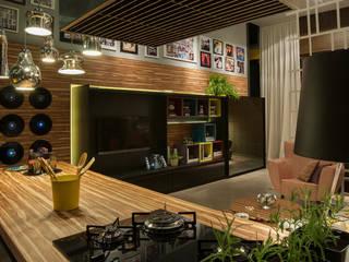 Loft Cozinhas ecléticas por Pulse Arquitetura Eclético