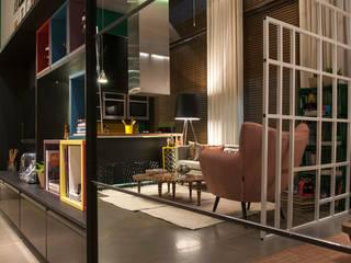 Loft Quartos ecléticos por Pulse Arquitetura Eclético
