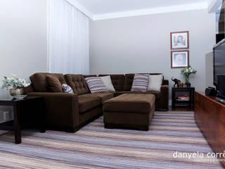 Living room by Danyela Corrêa, Modern