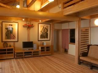 .: 徳弘・松澤建築事務所が手掛けたリビングです。,