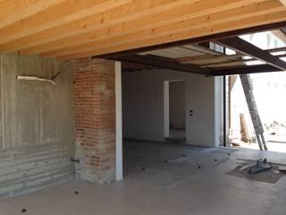 CASA BR Soggiorno in stile rustico di Studio Architetto Grella Rustico