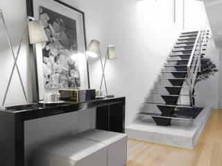 Casa em Braga Salas de estar modernas por CASA MARQUES INTERIORES Moderno