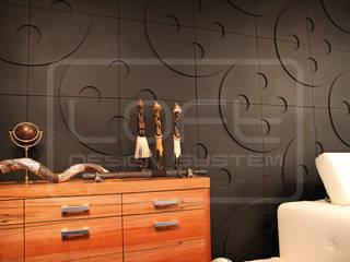 3D Decorative Panel - Loft System Design - model Buttons Loft Design System Walls & flooringWall tattoos