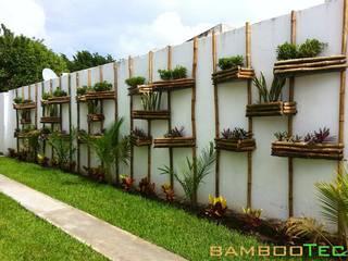Jardins modernos por Bambootec Moderno