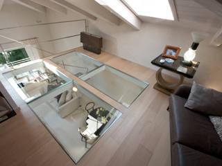 bilune studio Eclectic style living room