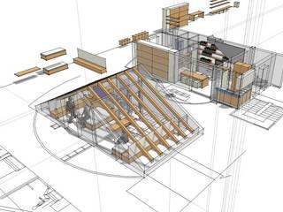 Quartos modernos por Paolo Briolini Architettura Moderno