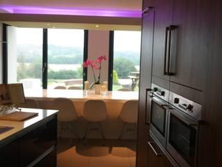 Rose Retreat : modern Kitchen by Design Studio Architects