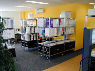 ETAGAIR im Büro:  Bürogebäude von Lothar John Tischkultur