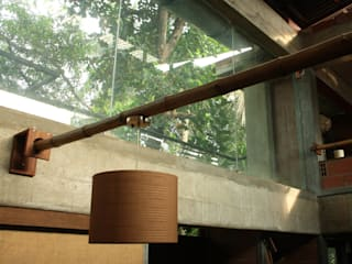 dd Architects Office Rustic style study/office by dd Architects Rustic