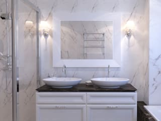 Insight Vision GmbH Classic style bathroom White