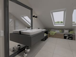 The Vibe Modern bathroom Stone Beige