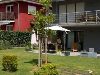 PROJEKT # 132 Moderner Garten von frei[RAUM]vision zeitgemäße Gartengestaltung am Bodensee Modern
