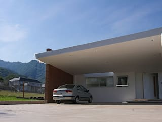 CB Design Double Garage White
