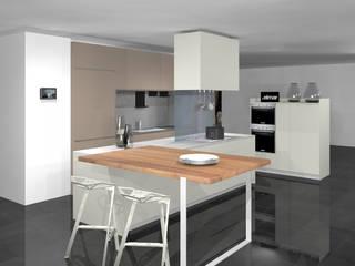 ELMAR Ultimos proyectos Cocinas de estilo moderno de Versat Moderno