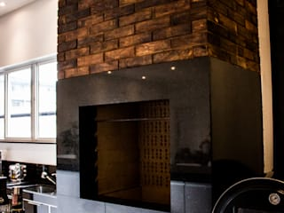 Caroline Ritzmann Stratmann Arquitetura e Interiores Eclectic style dining room