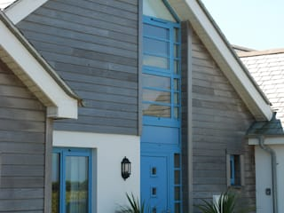 Outspan, Widemouth Bay, Cornwall The Bazeley Partnership Casas estilo moderno: ideas, arquitectura e imágenes