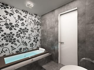 Minimalist bathroom by Anfilada Interior Design Minimalist