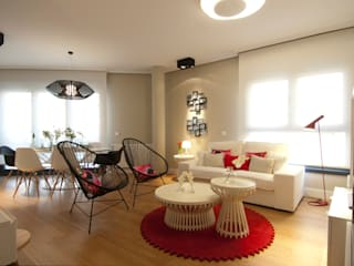 Гостиная в стиле модерн от Sube Susaeta Interiorismo Модерн