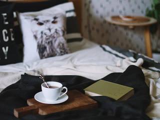 Scandinavian style bedroom by ИНТЕРЬЕР-ПРОЕКТ.РУ Scandinavian