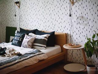 ИНТЕРЬЕР-ПРОЕКТ.РУ Camera da letto in stile scandinavo