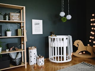 Scandinavian style nursery/kids room by ИНТЕРЬЕР-ПРОЕКТ.РУ Scandinavian