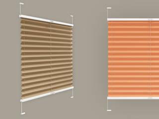 Plissee nach Maß:  Fenster von Plissee-Zeit