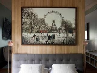 Chambre de style  par Patricia Martinez Arquitetura, Scandinave