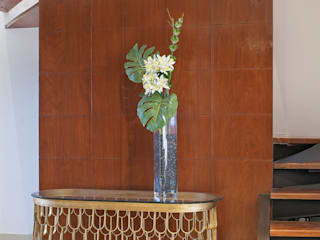 Corredores, halls e escadas ecléticos por PORTO Arquitectura + Diseño de Interiores Eclético