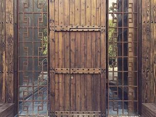 Houses by JCandel, Rustic Wood Wood effect