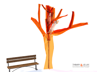 The invisible tree Frédéric TABARY Nursery/kid's roomAccessories & decoration Plastik Transparent