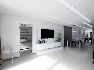 TG STUDIO Soggiorno moderno Bianco