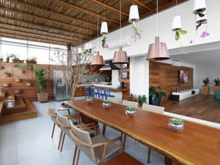 Cobertura VL: Terraços  por Studio Novak ,Moderno