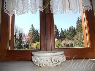 Altipiani di Arcinazzo Villa con pianeggiante e ampio giardino, terrazzo, gazebo, laghetto di immobiliare sublacense Rustico