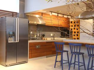 Cobertura VL: Cozinhas  por Studio Novak ,Moderno