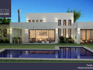 RSOarquitectos Casas estilo moderno: ideas, arquitectura e imágenes
