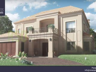 Kolonialne domy od RSOarquitectos Kolonialny