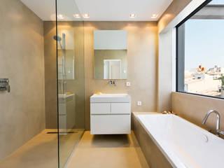 Apartamento KW Santa Catalina Baños de estilo moderno de ISLABAU constructora Moderno