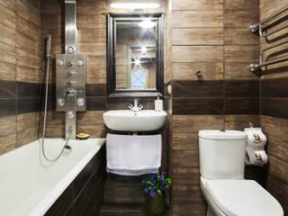 Порядок вещей - дизайн-бюро Rustic style bathroom