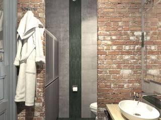 Baños de estilo industrial por Дизайн студия Алёны Чекалиной