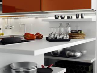 INDADA KITCHEN RENDERING 3Dedintorni Minimalistische Küchen