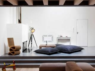 Loft Samp Soggiorno moderno di architetto Paolo Larese Moderno