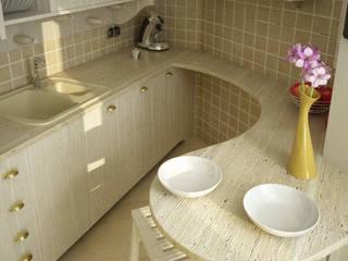Progetto: Cucina in stile in stile Moderno di Makestudio_rendering_lab