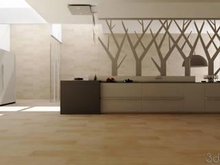 VALCUCINE MULTILINE RENDERING 3Dedintorni Minimalistische Küchen