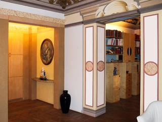 Classic corridor, hallway & stairs by STUDIO GUERRI Classic