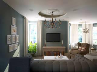 Salas de estar ecléticas por lab21studio