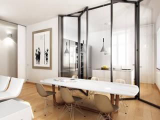 AUS 01 Apartment no.3 in Turin 3Dedintorni WohnzimmerCouch- und Beistelltische