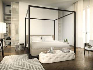 Our Portfolio Camera da letto moderna di DiagrammaStudio Moderno